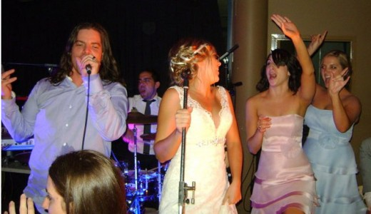 wedding-rockaoke-live band karaoke weddings