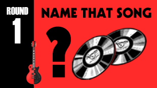 The band will play a medley of songs and the audience will have to name the song and artist.  For bonus points, teams can guess the year they were released.