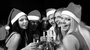 live band karaoke Christmas party ideas
